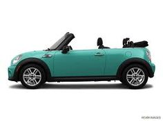 laguna green mini cooper convertible