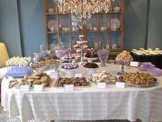 Lavender Dessert Table for Baby Shower | Flickr - Photo Sharing!