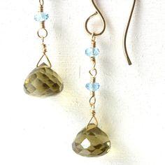 Briolette Dangle Earrings, $45.00
