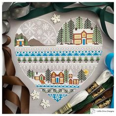 Back Stitch, Stitch Kit, Types Of Stitches, Colour Images, Grand House, Cross Stitch Patterns, Heart Shapes, Tapestry, Colour Chart
