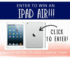 IPAD AIR GIVEAWAY  How would you like to win an iPad Air??