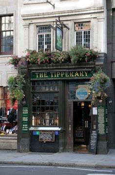 THE TIPPERARY  London    This Fleet Street spot claims to be the first Irish pub outside of Ireland. Perhaps more importantly: It was also the first bar to pour Guinness away from the motherland.