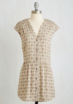 Well Within Your Peach Tunic in Tile