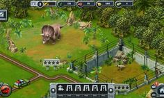 Jurassic Park Builder is a cross-platform social game, dinosaur-themed park builder game, simulation and management game, free to play on Facebook and mobile devices - Android and iOS (iPhone, iPad, iPod), from Ludia.