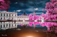 Gradignan. France. Infrared photography.
