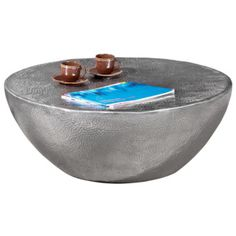 Lounge Tisch in Silber Aluminium Demi Sphere, Unique Coffee Table, Aluminium, Metallica, Home Projects, Decorative Bowls, Beautiful Homes, Sweet Home, Elegant