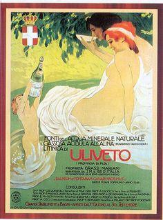 Arte Liberty in Italia - Manifesti - Acqua Minerale