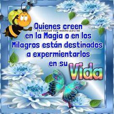 Quiénes creen en la magia o en los milagros están destinados a experimentarlos en su vida.