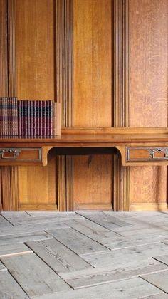 Antique Desk, Vintage Furniture, Garage Doors, Antiques, Outdoor Decor, Home Decor, Antiquities, Antique Writing Desk, Antique