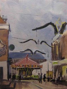 """""""Last painting of this year, ... Ill guess."""" - Original Fine Art for Sale - © Pleinair Rene"""