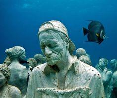 Jason de Caires Taylor // Underwater Sculptures