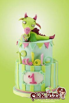 Draco - by ChokoLate @ CakesDecor.com - cake decorating website