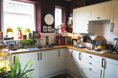 Brinjal by Farrow & Ball - 20 Paint Colors We Love in the Kitchen