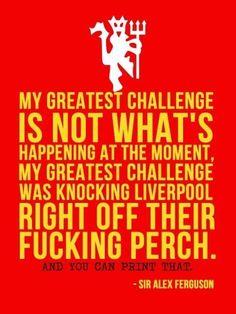 Sir Alex Ferguson - Manchester United-Loved It! Football Quotes, Best Football Team, Soccer Quotes, Football Pics, Retro Football, Football Stuff, Manchester United Legends, Manchester United Football, Sir Alex Ferguson