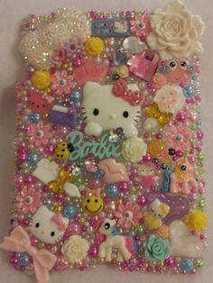 Handmade Hello Kitty Homemade Ipad Mini Case Barbie by 4havnfn, $57.99