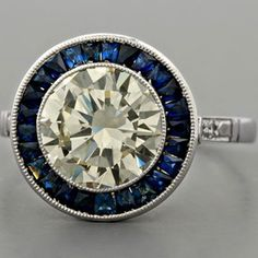 Sapphire engagement ring :)