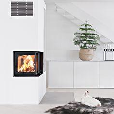 Bilderesultat for moderne hjørnepeis Loft, House Design, Interior, Panama, Home Decor, Design Ideas, Spirit, Home, Modern