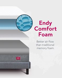 Scientifically engineered for maximum comfort. This means Canadians can rest easy knowing Endy has their back night after night. Night After Night, Comfort Mattress, Best Mattress, Pressure Points, Best Memories, Memory Foam, Rest, Sleep, Design