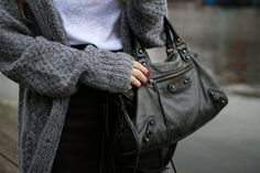 I like both the bag and what you can see of the sweater