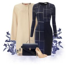 """""""Am I Blue"""" by michelled2711 ❤ liked on Polyvore featuring MaxMara, Isharya, Pour La Victoire and Jimmy Choo"""