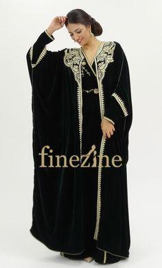 Abaya - fil d'or