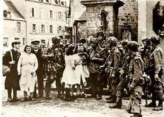 Division de l'histoire de la Seconde Guerre mondiale 101st Airborne - Sainte Marie du Mont - 7 Juin 1944