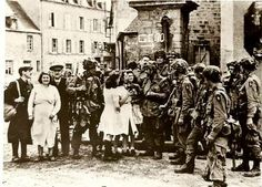 World War II History 101st Airborne Division - Sainte Marie du Mont - June 7, 1944