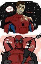 Umikochann's Secret Cave — Spideypool is everything— Marvel Dc Comics, Marvel Jokes, Marvel Funny, Marvel Art, Marvel Avengers, Deadpool X Spiderman, Spideypool, Superfamily, Loki