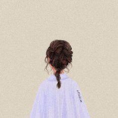 Ideas digital art sad girl for 2019 Aesthetic Art, Aesthetic Anime, Cartoon Art Styles, Digital Art Girl, Sad Girl, Girl Wallpaper, Anime Art Girl, Cute Drawings, Cute Art