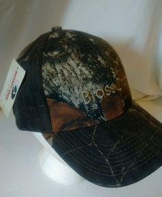 NWT Mossy Oak Brass Craft Camo Hat Cap Velcro Adjust #MossyOak #BaseballCap