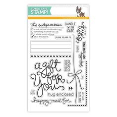 Simon Says Clear Stamps ENVELOPE SENTIMENTS sss101303