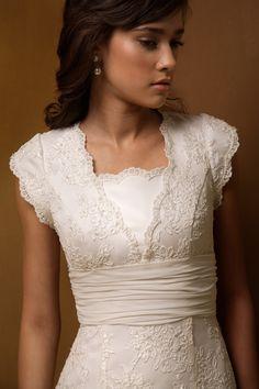 Wedding Departure Dress: Modest, Elegant, and Sweet. :)