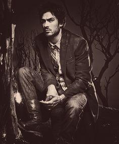 The dark Ian : )