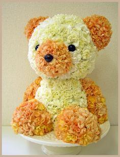 Oh my Fiesta Flowers!: Lindos ositos. Mascotas florales.