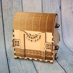 wooden backpack DXF  bag dispenser. Laser cut vector model.