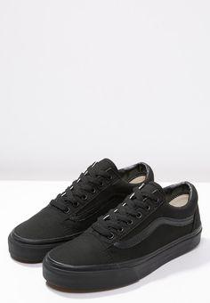 Vans OLD SKOOL - Skatesko - black - Zalando.dk Vans Black Sneakers a95b1d51f1f7d