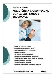ufcd 3248. Assistência a crianças no domicílio - Saúde e segurança