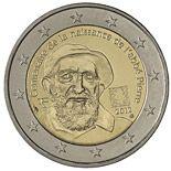 2 euro 100th Anniversary of Abbé Pierre's birth - 2012 - Series: Commemorative 2 euro coins - France