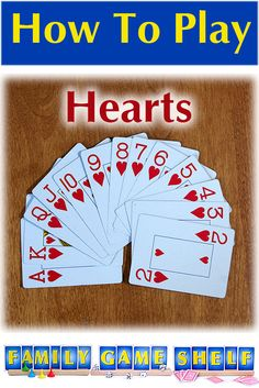 Family Card Games, Fun Card Games, Games For Fun, Card Games For Kids, Playing Card Games, Kids Playing, Party Games, Hearts Card Game, Games For Two People