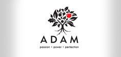 Logo design for Adam by AdamsRib Design Corporate Identity Design, Logo Design, Logos, Home Decor, Decoration Home, Room Decor, Logo, Home Interior Design, Home Decoration
