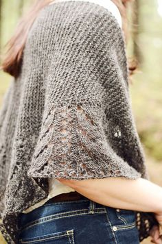 Ravelry: Kiuru pattern by Veera Välimäki. I can think of so many yarns that would look gorgeous in this.: