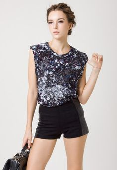 Sparkle Star T-shirt by Chic+