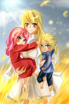 Nalu Children by NanakoBlaze on DeviantArt