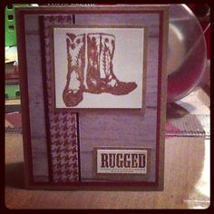 Ginger's Vintage Room: Dakota, close to my heart, ctmh, unity stamp co, boy card