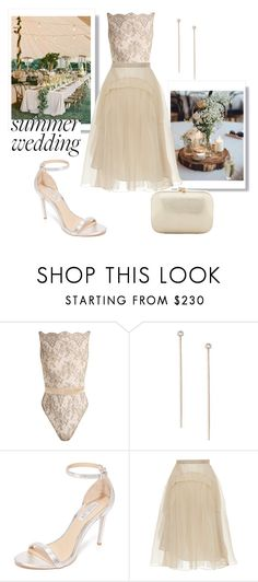 """Wedding Day"" by petra0710 ❤ liked on Polyvore featuring Coco de Mer, Vita Fede, Rachel Zoe, Rochas and Serpui"