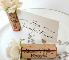 Vintage Wine Blush Pink Wedding Place Card Holders, made using vintage wine corks. Makes a stunning place card table. Flowers only available too, from Kara's Vineyard Wedding. - Looking for a beautiful Wedding Places, Wedding Place Cards, Diy Wedding Decorations, Wedding Centerpieces, Masquerade Centerpieces, Tall Centerpiece, Wedding Favors, Table Decorations, Diy Wedding On A Budget