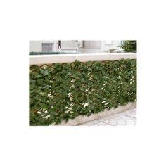 Mur végétal Castor Green, imitation feuilles de lierre, à la fois brise vue et décoration originale. http://www.amenager-ma-maison.com/mur-vegetal-castor-green-PR-573.html