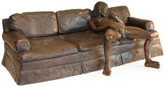 On The Couch. Artist: Leslie Stefanson