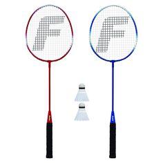 Senston 2 Pieces Carbon Alloy Badminton Set lightweight 100/% Graphite Shaft