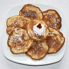 Fotografie receptu: Jablkové lívance Desert Recipes, French Toast, Deserts, Breakfast, Food, Desserts, Meal, Essen, Dessert